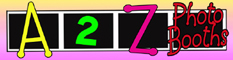 A 2 Z Photo Booths Logo