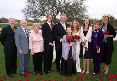 Bride, Groom, Parents & Family