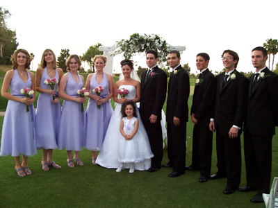 The Wedding Party & Guests!