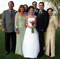 Bride, Groom & Parents