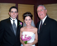 Mr & Mrs. Daniel Irizarry & Larry James