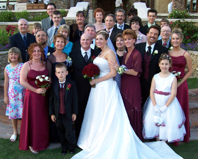 The Bride, Groom & Families