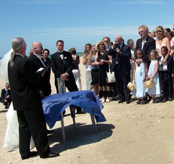 Krause Blending of the Sands Ceremony