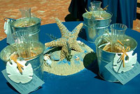 Beach Table Decorations