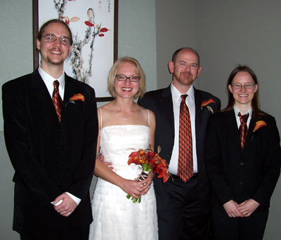 Darlene & Walt's Wedding Party